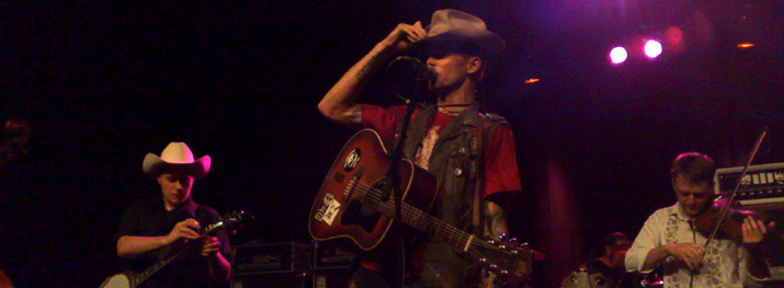 Hank III and Assjack - Live @ Vega - Copenhagen - 2009-08-25 (concert review)