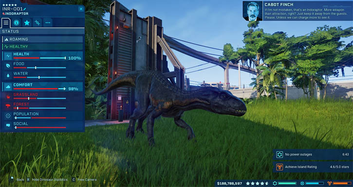 Jurassic World Evolution. (The Game, PC) [2018] (pc game review)