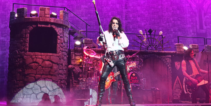 Alice Cooper - Royal Arena, Copenhagen, VIP + Live, 2019-09-25 (concert review)