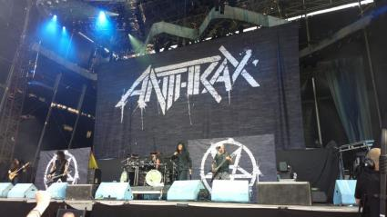 Copenhell 2014, Anthrax