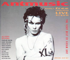 Adam Ant / Adam And The Ants - Antmusic (compilation and live)