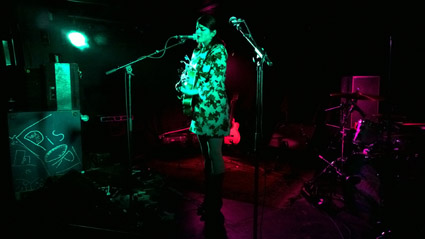 Gemma Ray, Stengade, Copenhagen, Saturday 2015-02-28