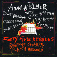 New records added to my collection - Forty-Five Degrees - A Bushfire Charity Flash Record
